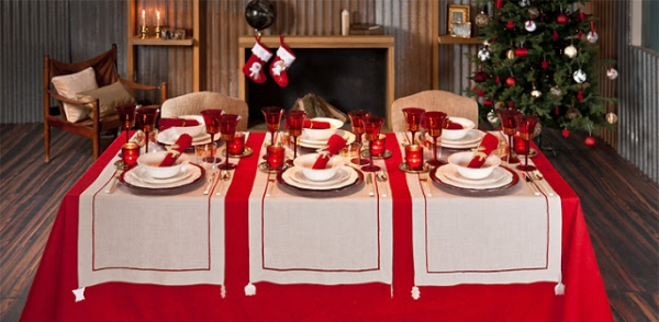 Christmas decoration by zara home adorable home - Mesas para navidad ...