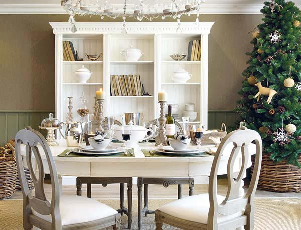 Christmas table decoration ideas | Adorable Home