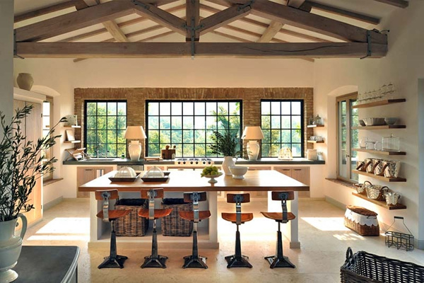 Tuscany Living Rooms
