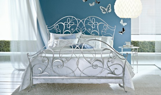 Classic Wrought Iron Beds By Ciacci Adorable Home