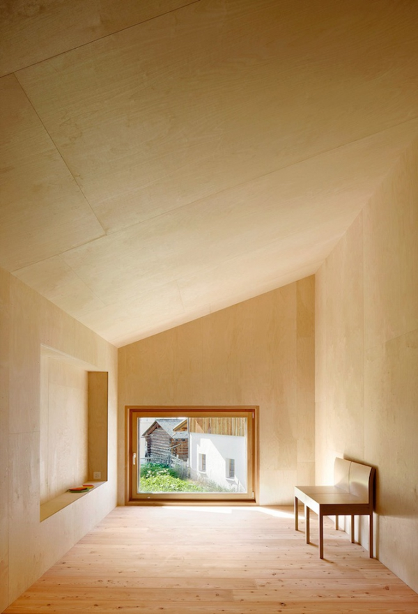 Clever inner house in Switzerland (10)