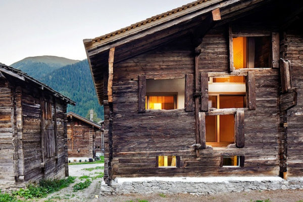 Clever inner house in Switzerland (2)