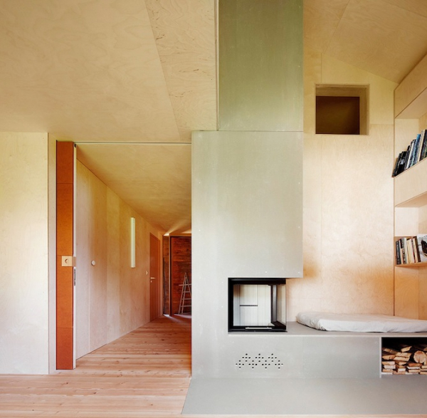 Clever inner house in Switzerland (6)