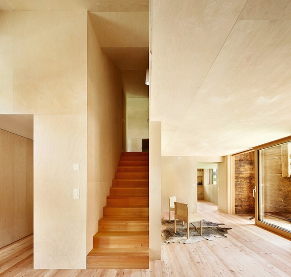 Clever inner house in Switzerland (9)