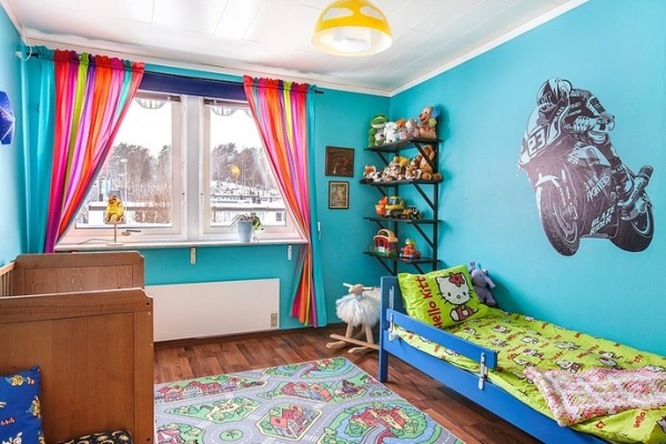 Colorful And Vibrant Kids Room Designs