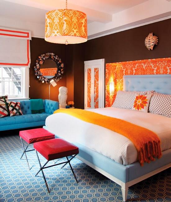 Colorful interiors by jonathan adler for Jonathan adler interior design
