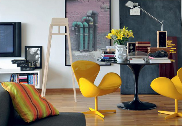 colorful living room inspiration 5 - Colorful Living Room