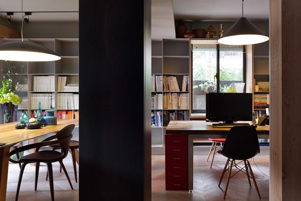 Compact home and office in downtown Taipei (8)
