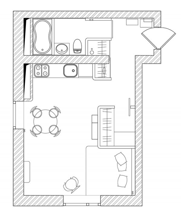 vivid small apartment (10)