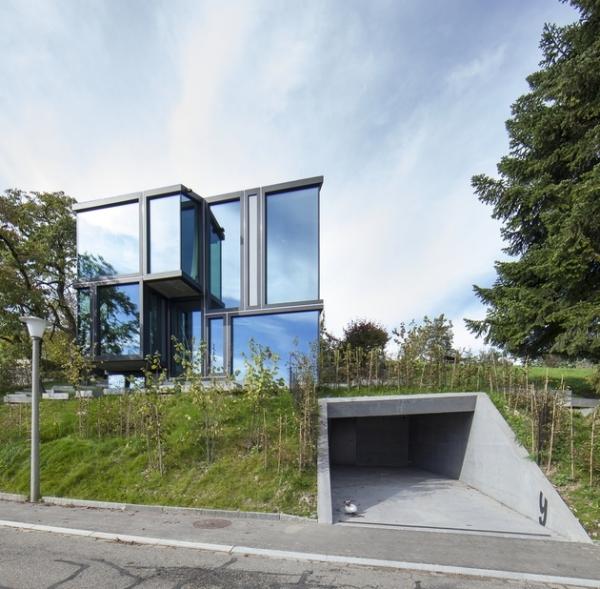 Concrete ideas and contemporary purple interiors (1)
