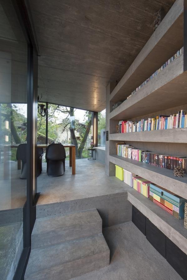 Concrete ideas and contemporary purple interiors (10)