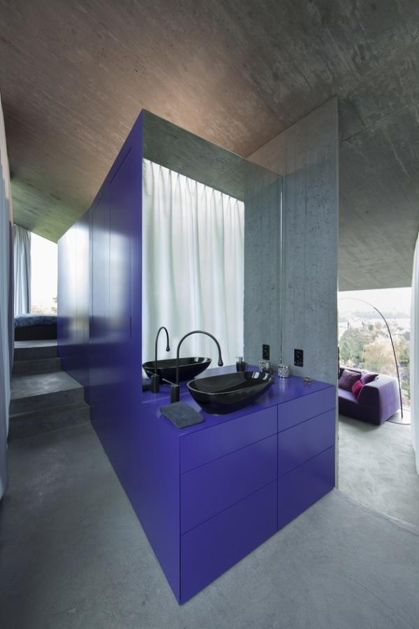 Concrete ideas and contemporary purple interiors (14)