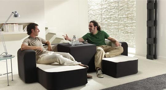Contemporary multifunction sofa (1)