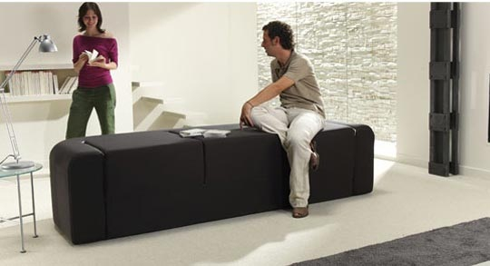 Contemporary multifunction sofa (3)