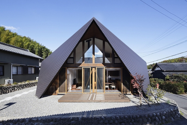 Contemporary Origami House (1)