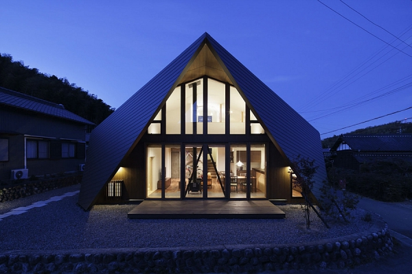 Contemporary Origami House (12)