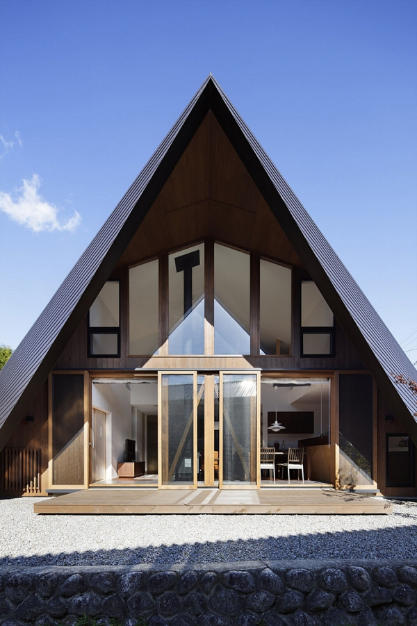 Contemporary Origami House (2)