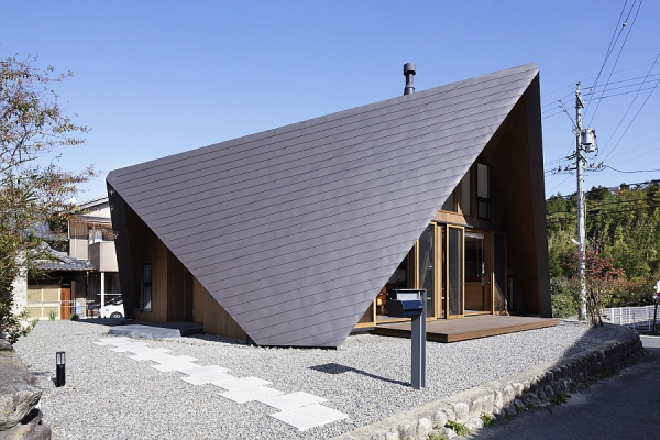 Contemporary Origami House (3)