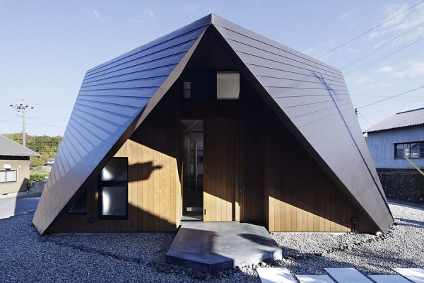 Contemporary Origami House (4)