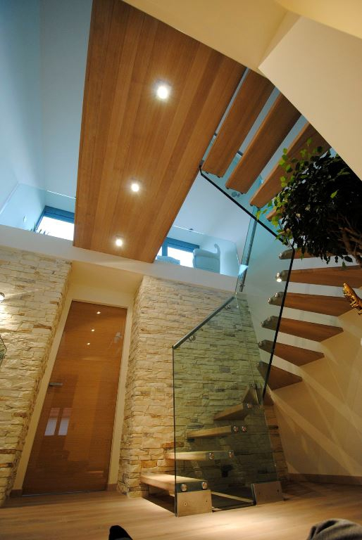 Contemporary staircases can make a home (18)
