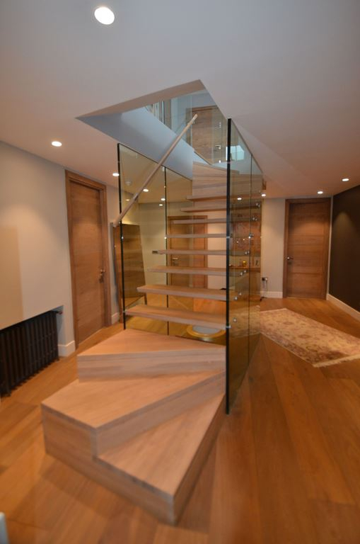 Contemporary staircases can make a home (19)