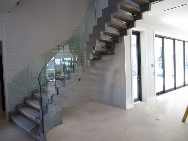 Contemporary staircases can make a home (9)