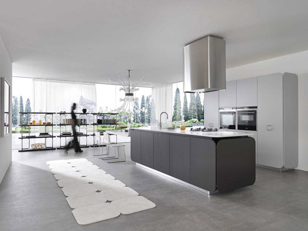 Cool kitchen ideas from euromobil adorable home for Cool kitchen designs