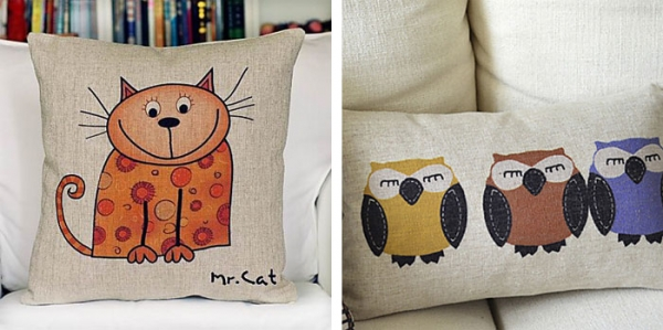 cotton and linen decorative pillows - Pillows Decorative