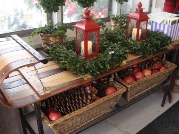 Modern decorated christmas tree - Country Christmas Decor Adorable Home
