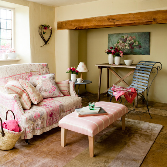 Country Cottage Decorating Ideas: Country Living Room Designs