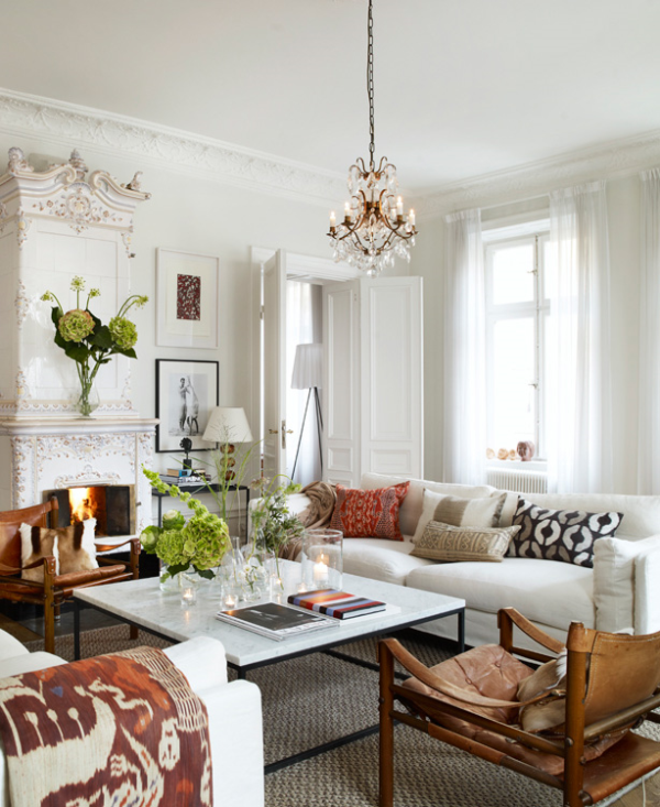 Cozy and bright: a classic interior » Adorable Home