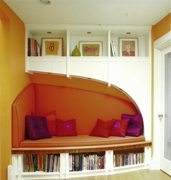 Create the coziest reading nook - Creating ideal reading nooks ...