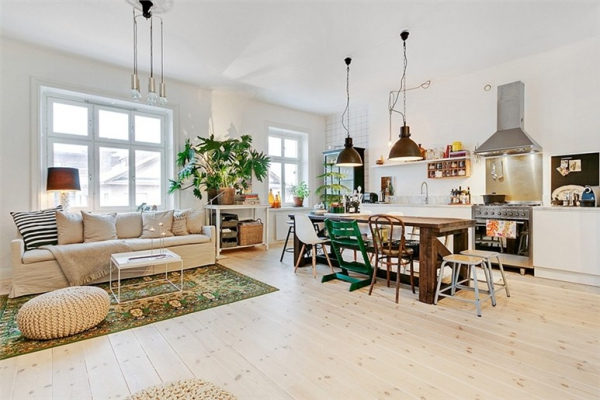 Cute and quaint apartment with an eclectic interior design for Cute apartments