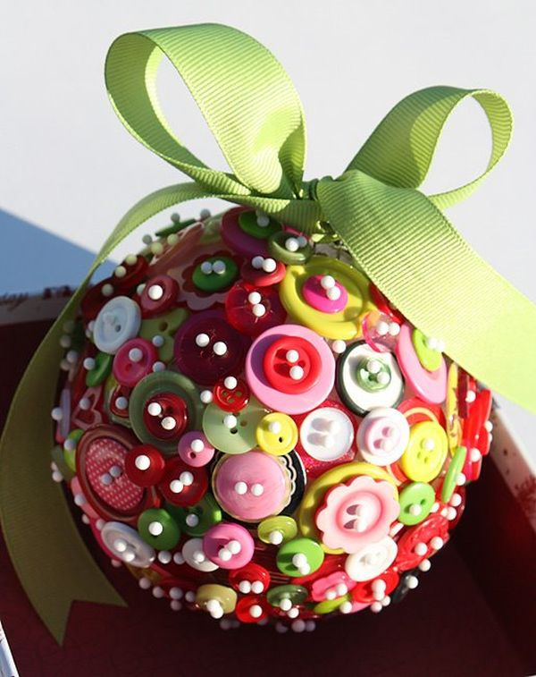 Decorate with christmas ball ornaments adorable home for Ball decoration ideas