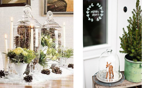 Decorating with Christmas glass jars – Adorable Home