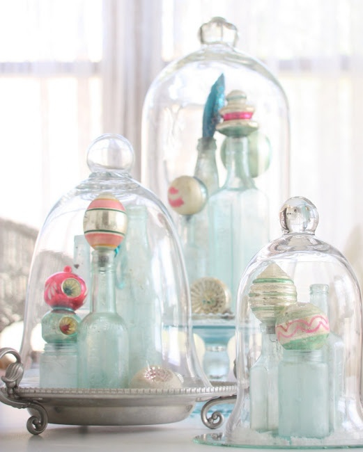 Decorating With Christmas Glass Jars