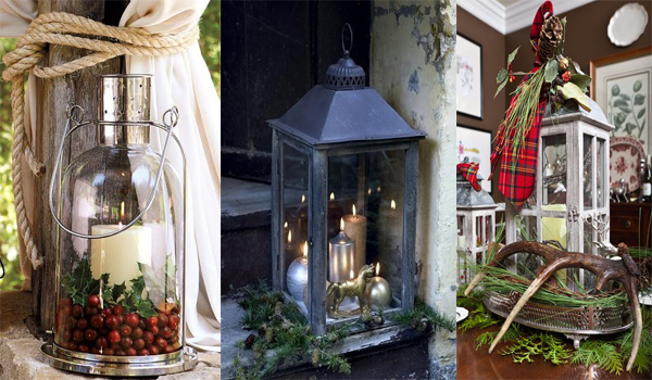 Lovely Decorating With Christmas Lanterns Adorable Home