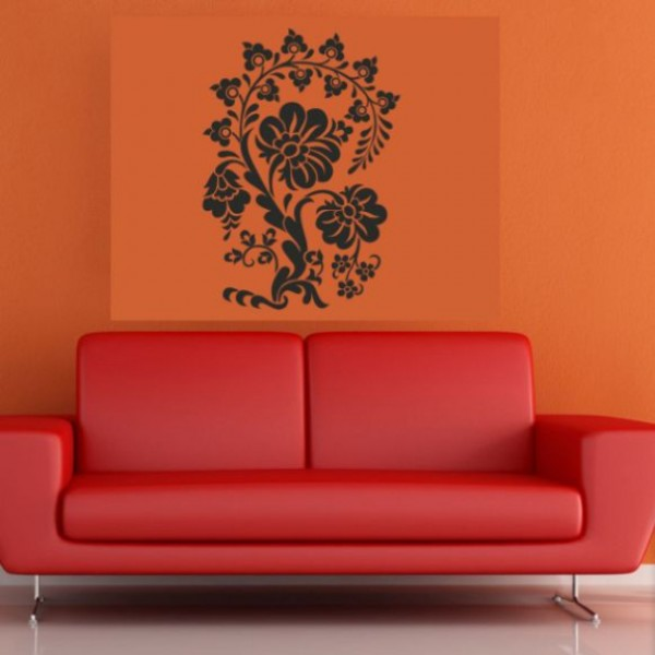 Flower & Floral wall stickers - autumn