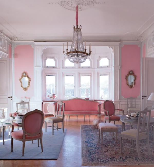 Delicate Pastel Tones Of A Gorgeous Swedish Home