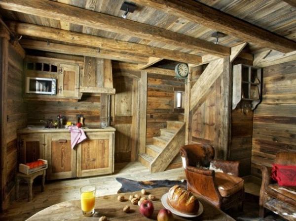 delightful wood cabin. Black Bedroom Furniture Sets. Home Design Ideas