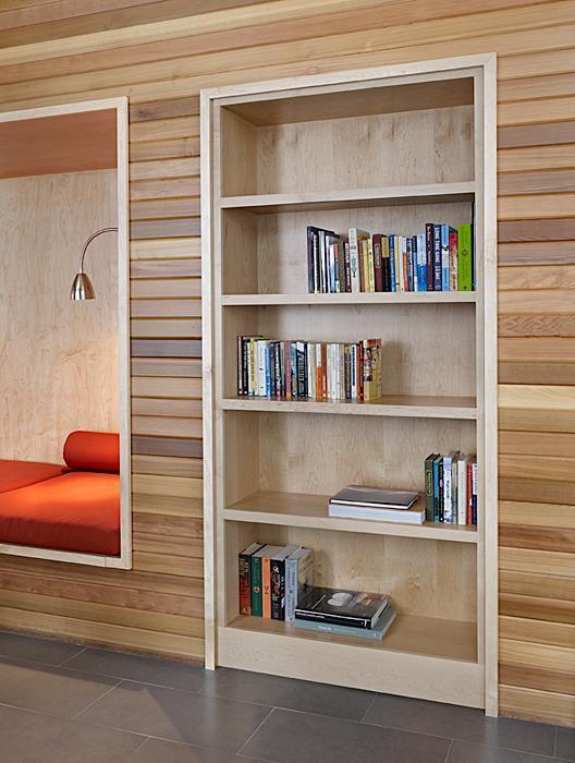 Designed for discretion the bookcase door (4)