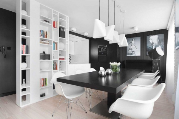 modern black and white interior (1)
