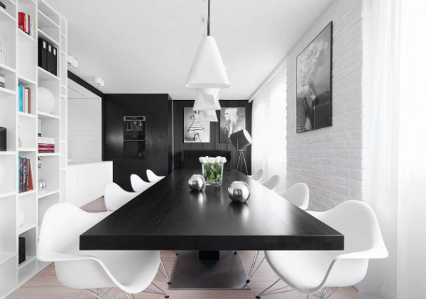 modern black and white interior (2)