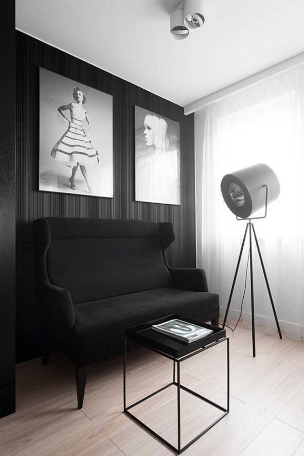 modern black and white interior (3)