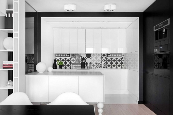 modern black and white interior (5)