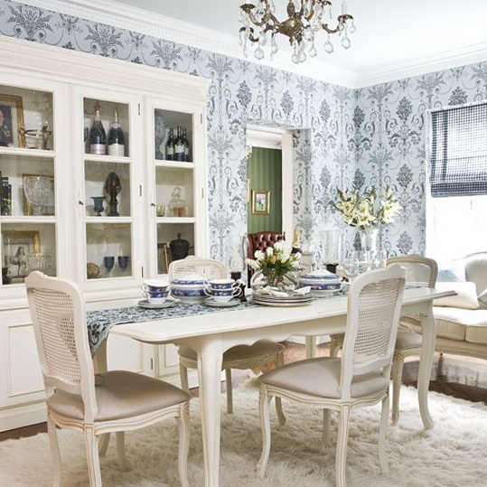 Dining Room Wall Paper: Dining Room Wallpaper Designs