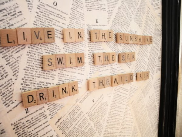 Diy Magnetic Scrabble Board Guide With Images Adorable