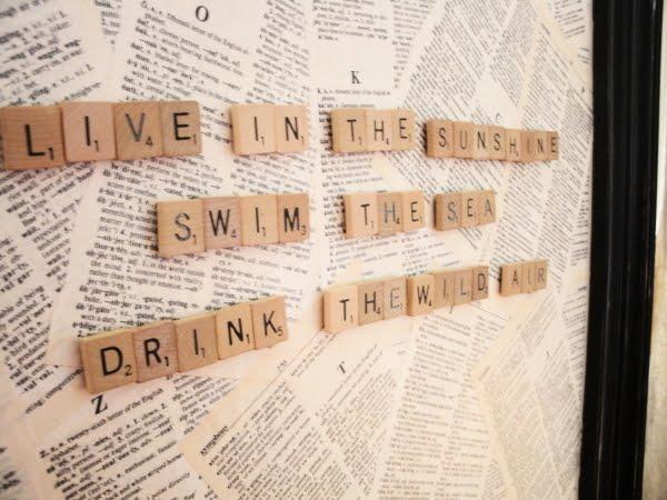 Diy Magnetic Scrabble Board Adorable Home