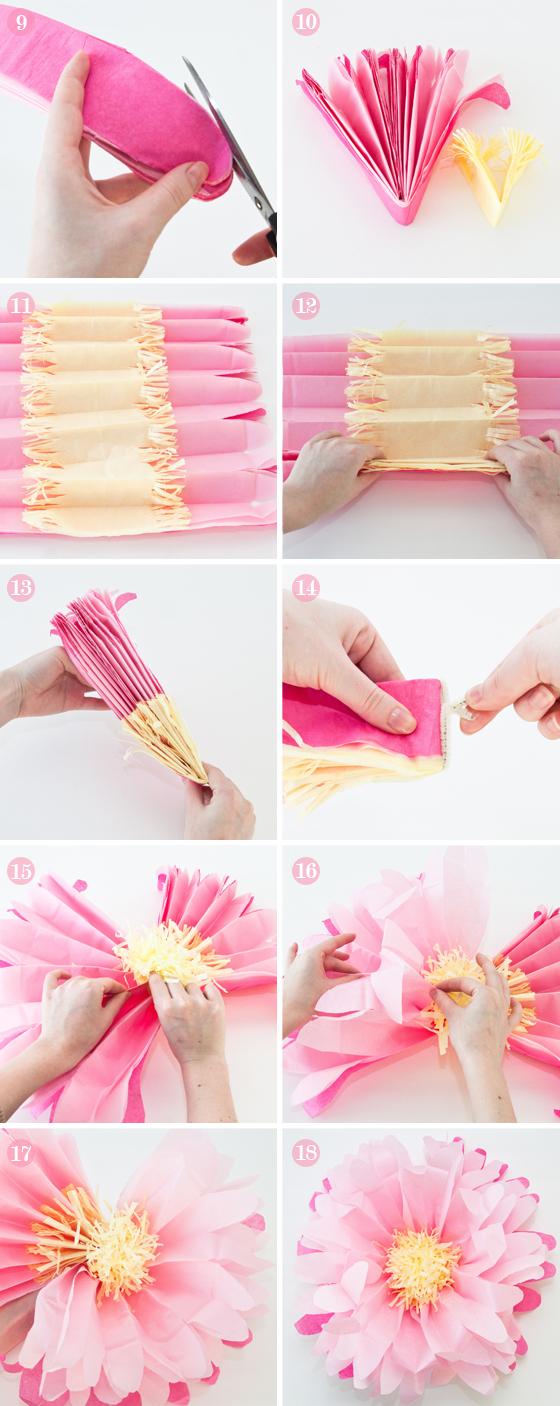 Diy Newspaper Flowers Step By Step Comousar