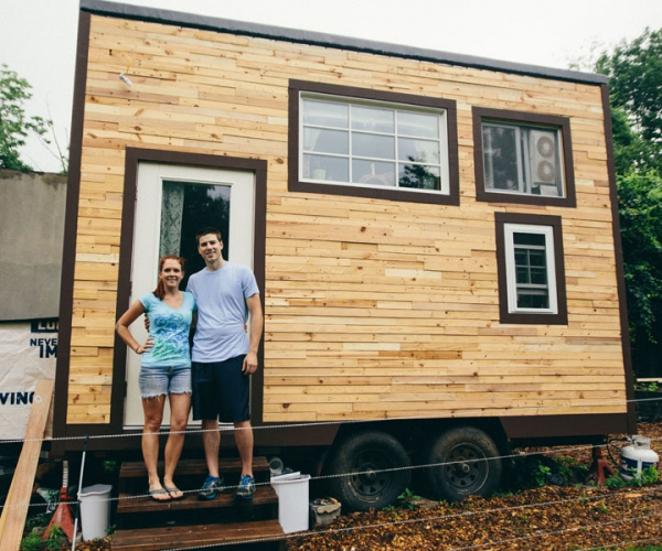 Terrific Diy Tiny House Proves You Can Live More Simply Adorable Home Largest Home Design Picture Inspirations Pitcheantrous